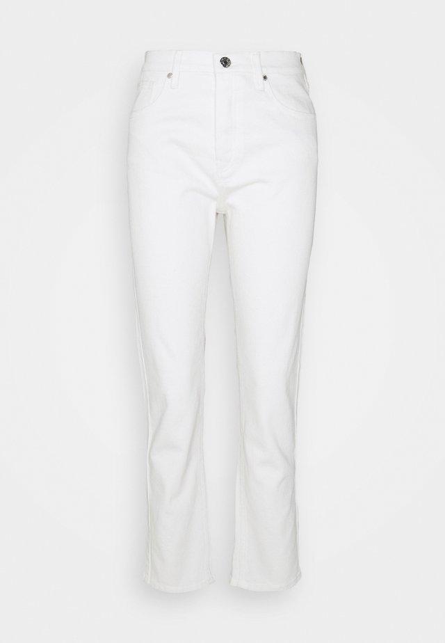 TERESA - Straight leg jeans - ecru