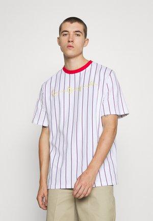 ORIGINALS PINSTRIPE TEE UNISEX  - T-Shirt print - white