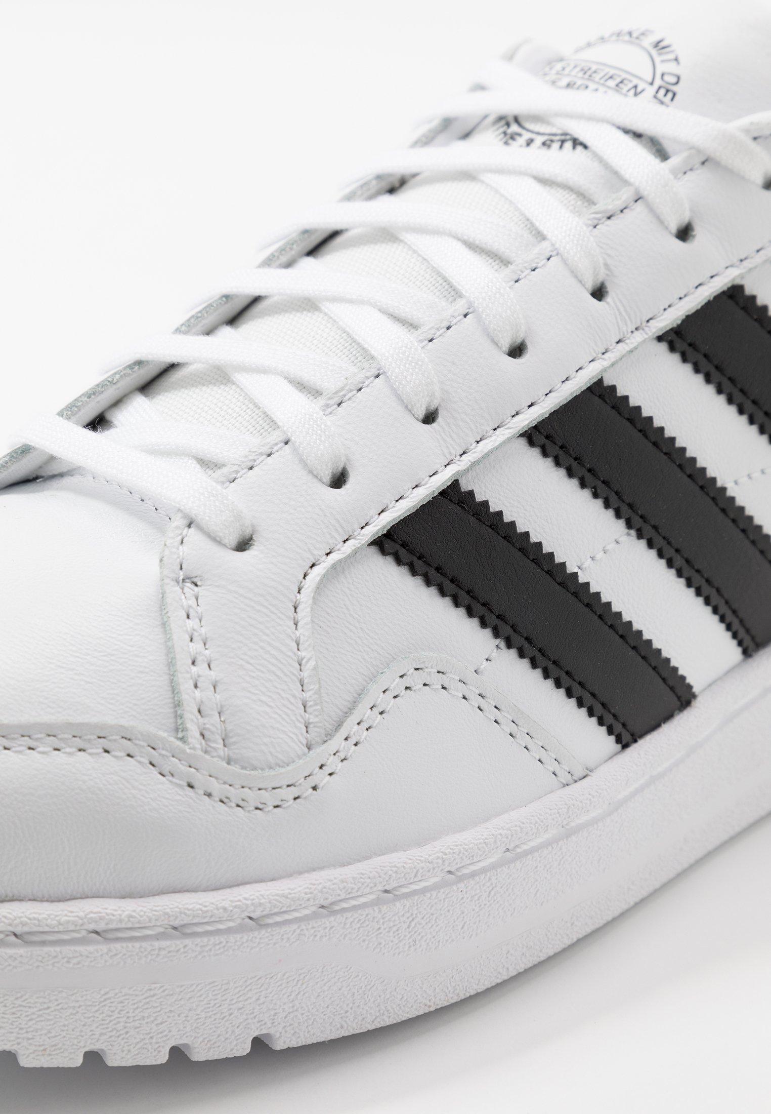 Adidas Originals Team Court - Sneakersy Niskie Ftwwht/cblack/ftwwht
