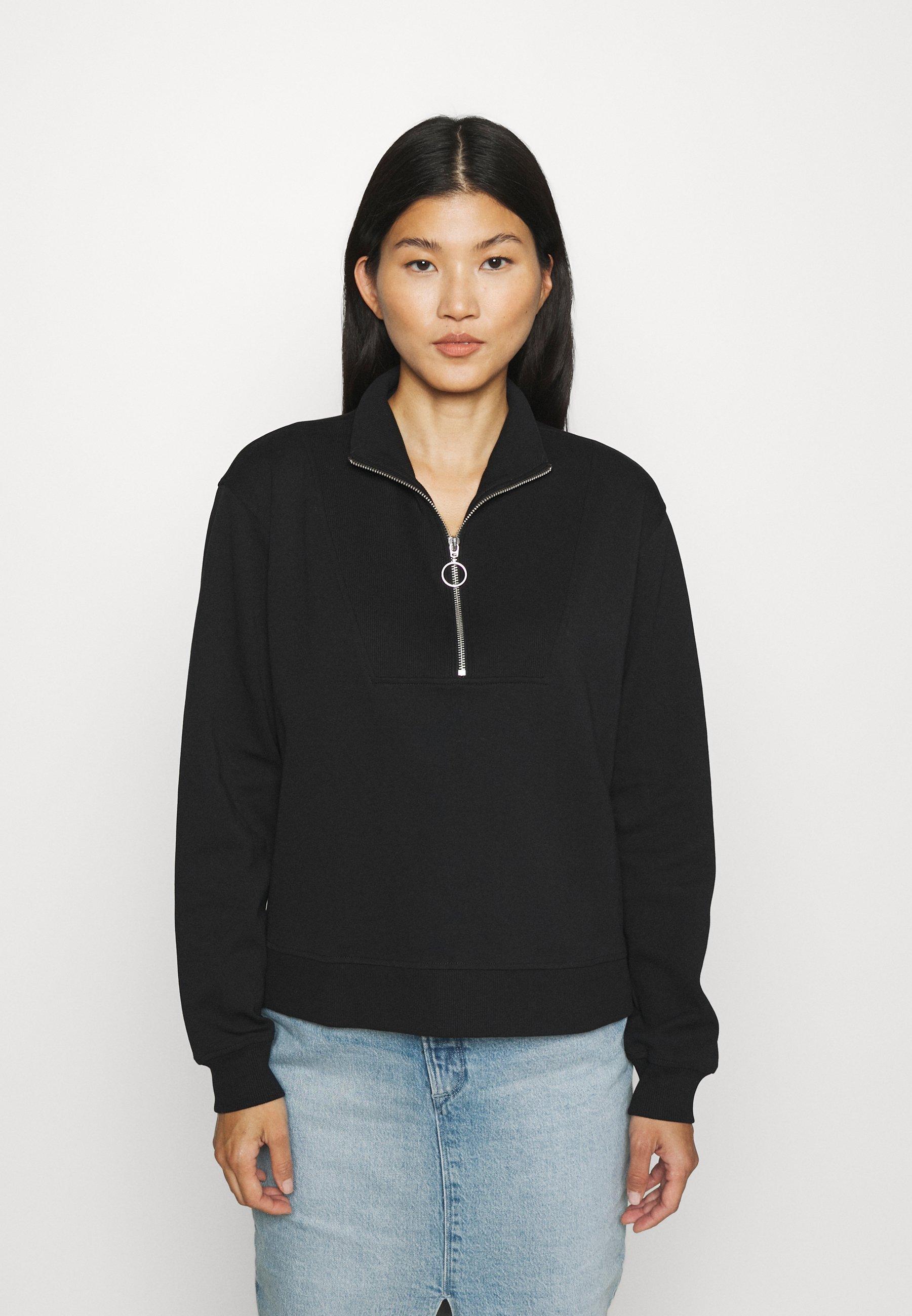Women LONGSLEEVE TROYER TRACKSUIT STYLE - Sweatshirt