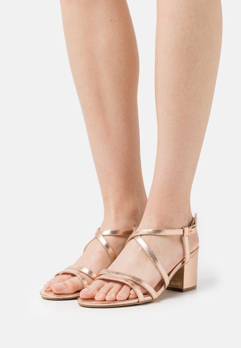 Even&Odd Wide Fit - WIDE FIT - Sandals - rose gold