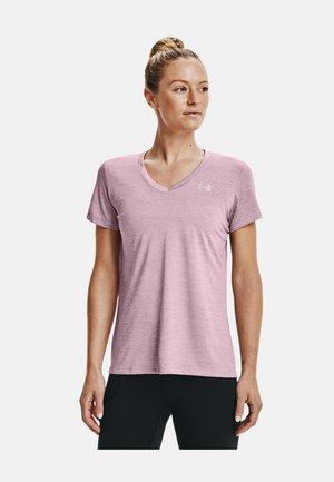 TECH TWIST - Print T-shirt - mauve