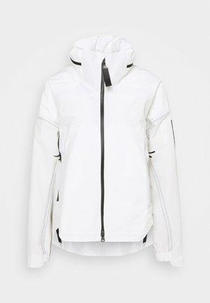 MYSHELTER PAR - Veste Hardshell - white