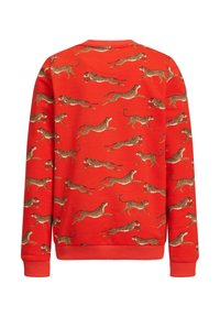 WE Fashion - MET LUIPAARDPRINT - Sweatshirt - orange - 1