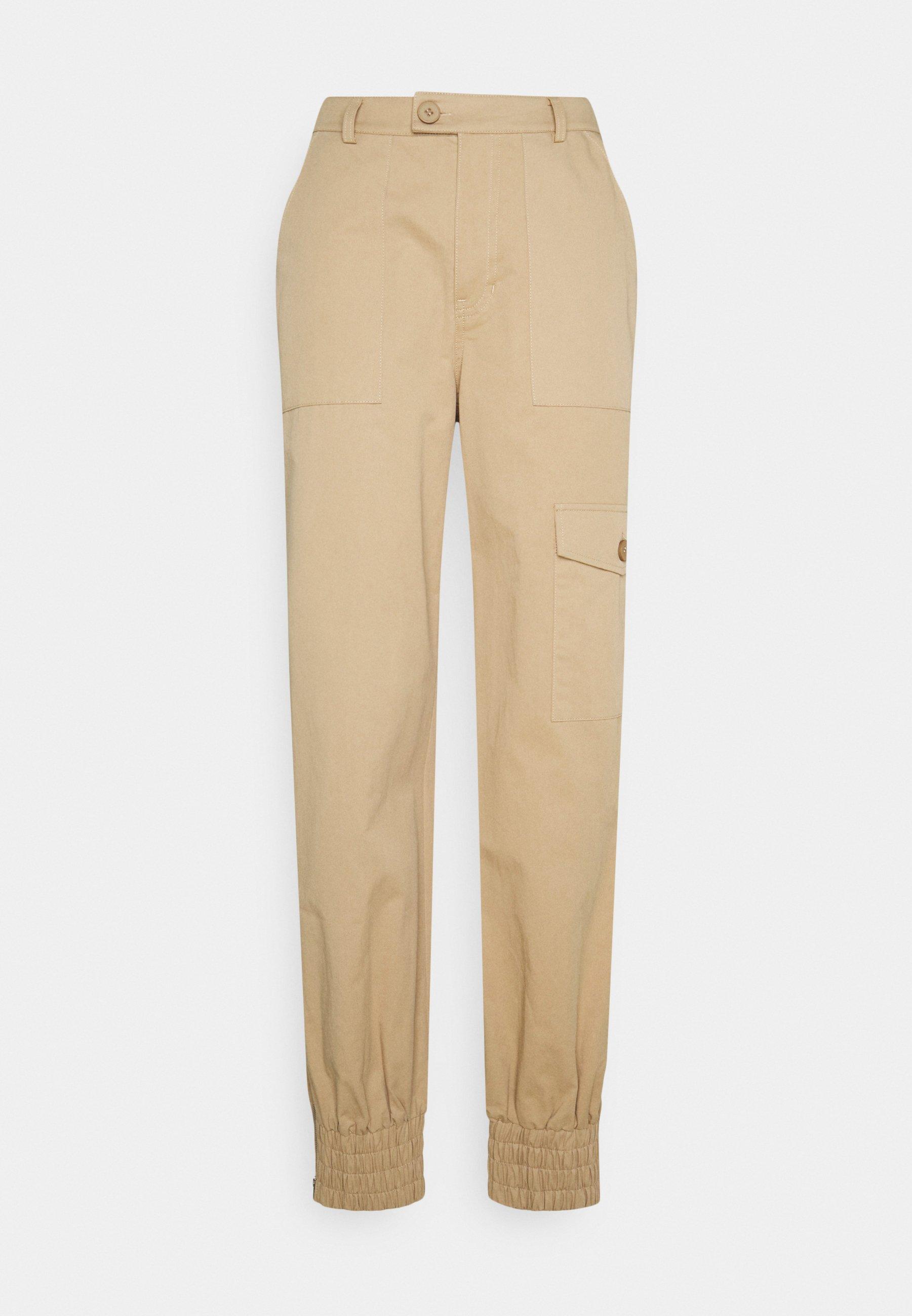 Women POCKET DETAIL PANTS - Trousers