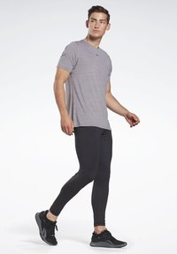 Reebok - THERMOWARM TOUCH BASE LAYER BOTTOMS - Tights - black - 1