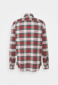 GAP - SLIM OXFORD - Skjorta - stewart plaid red - 1