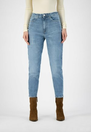 Straight leg jeans - old stone