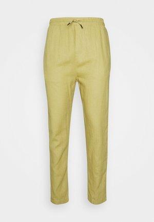 CROPPED PANT - Kalhoty - kaki