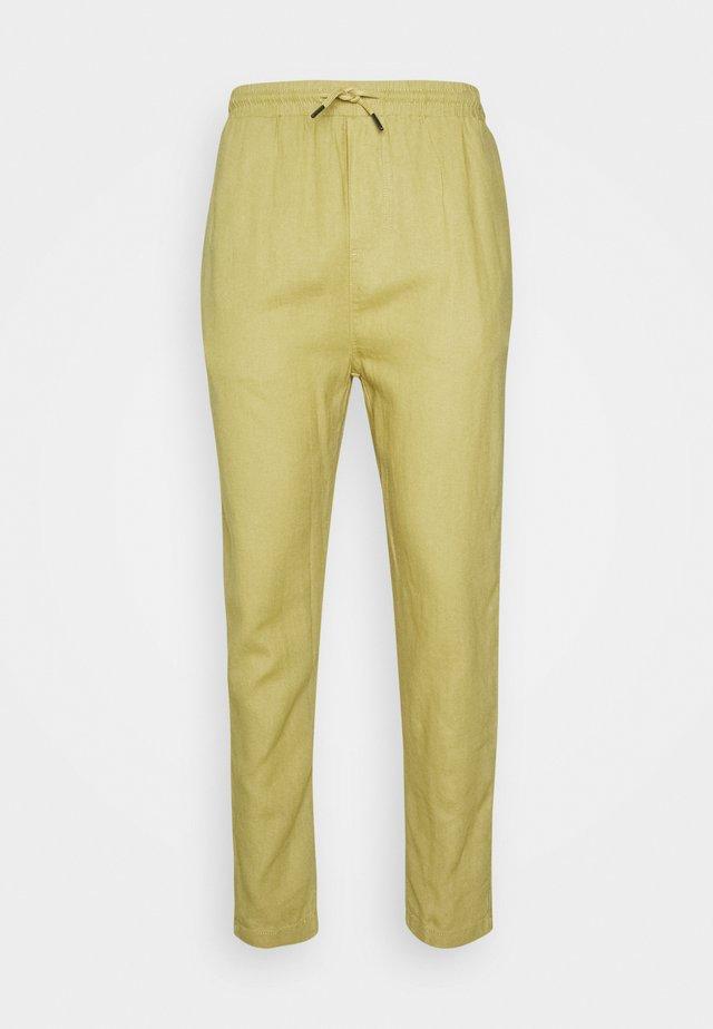 CROPPED PANT - Trousers - kaki