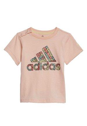 LOGO T-SHIRT - T-shirt z nadrukiem - pink