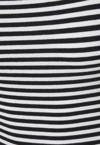 Anna Field Tall - 2 PACK - Topper - white/black - 4