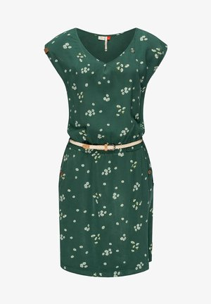 CAROLINA W - Day dress - dunkelgrün