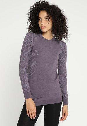 KINSHIP - Long sleeved top - vintage violet melange