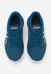ASICS - GEL-GAME - Clay court tennis shoes - mako blue/pure silver - 3