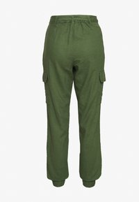 TOM TAILOR DENIM - UTILITY RELAXED PANTS - Trousers - olive green - 1
