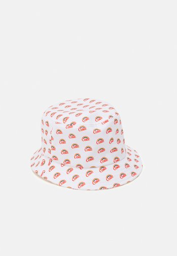 COCA COLA PRIDE RAINBOW BUCKET HAT UNISEX - Kšiltovka - white