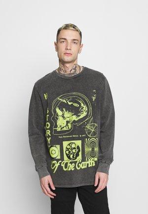 HISTORY LONG SLEEVE UNISEX - Sweater - black