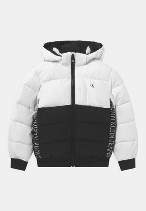 BLOCK PUFFER - Zimní bunda - bright white