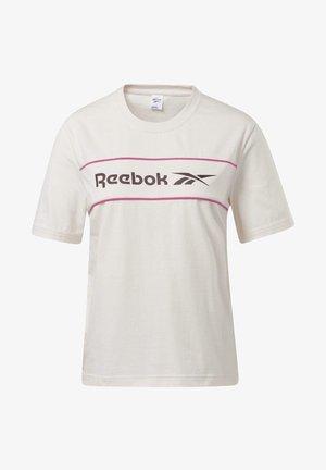 CLASSICS LINEAR T-SHIRT - T-shirt z nadrukiem - pink