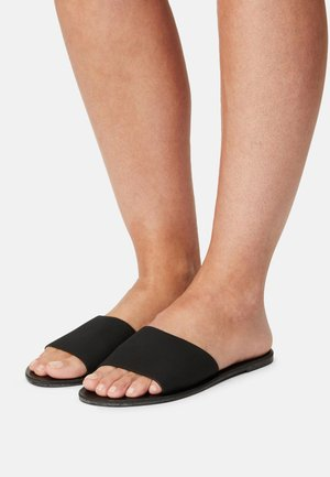 CARRIE MINIMAL SLIDE - Sandaler - black