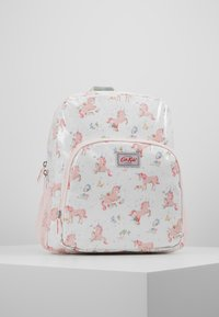 Cath Kidston - KIDS CLASSIC LARGE WITH POCKET - Reppu - white/light pink - 0
