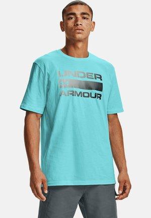UA TEAM ISSUE WORDMARK  - Print T-shirt - breeze