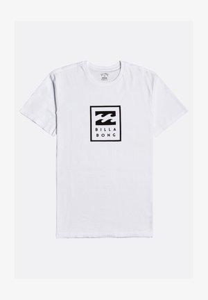UNITY STACKED  - Print T-shirt - white