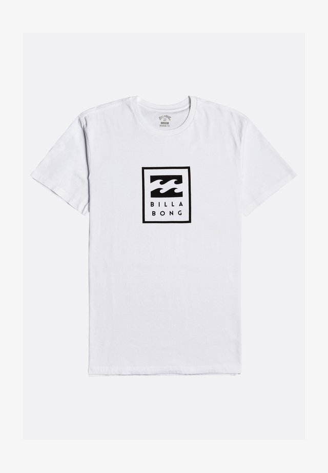 UNITY STACKED  - T-shirts print - white
