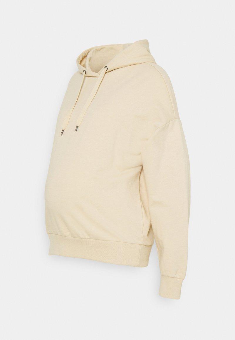 Anna Field MAMA - Bluza z kapturem - beige