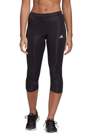 OWN THE RUN  - 3/4 sports trousers - schwarz (200)