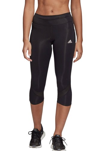 OWN THE RUN  - 3/4 sports trousers - schwarz (200)