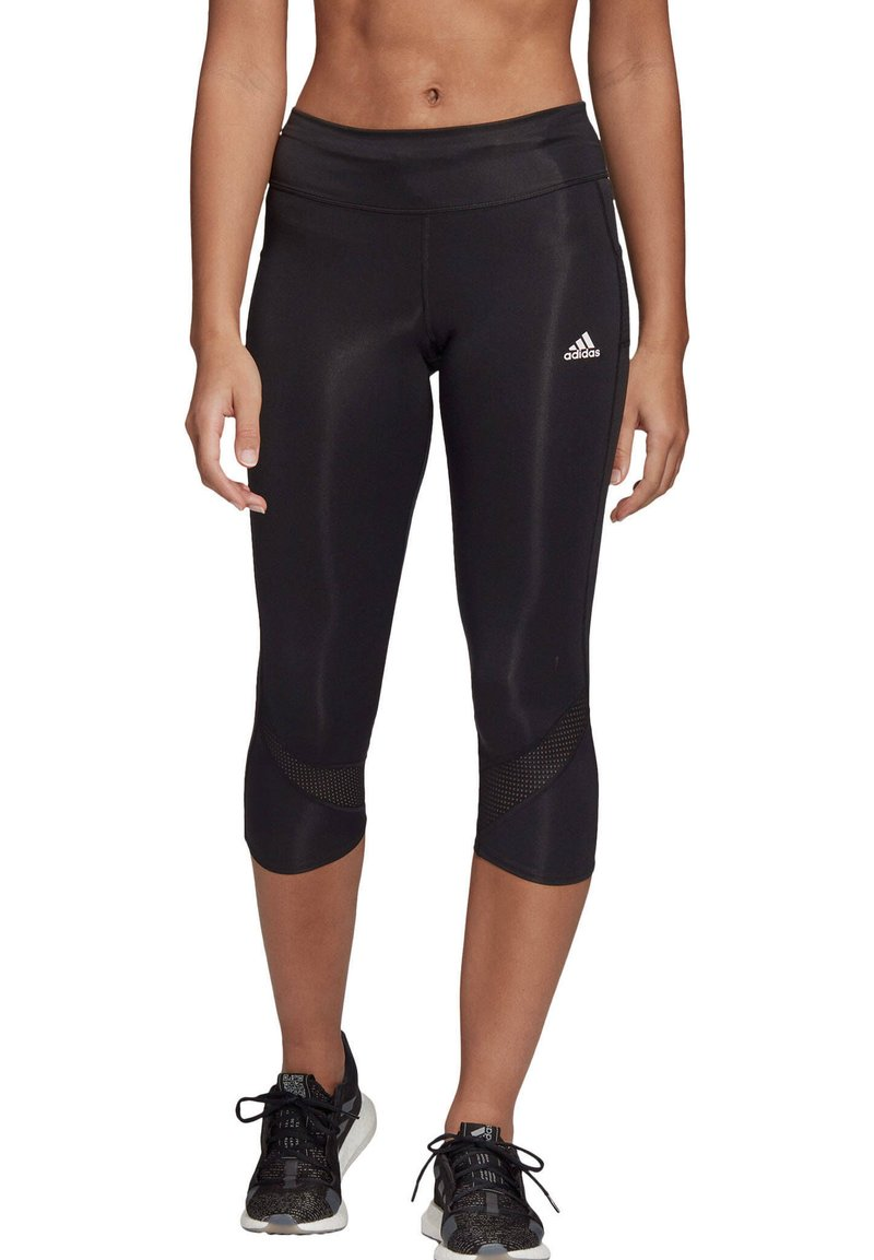 adidas Performance - OWN THE RUN  - 3/4 sports trousers - schwarz (200)