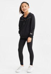 WE Fashion - Sweater met rits - black - 0