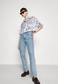 Monki - Button-down blouse - summerinfrance - 5