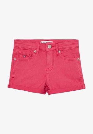 NORA - Denim shorts - pink