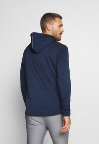 adidas Golf - SPORTS GOLF HOODED  - Fleecetröja - collegiate navy - 2