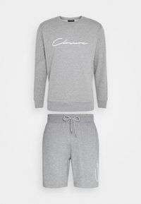 CLOSURE London - DOUBLE SCRIPT CREWNECK SHORT SET - Sweatshirt - grey - 7