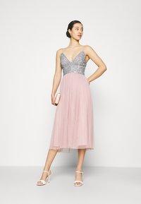 Lace & Beads - AMIRA MIDI - Cocktail dress / Party dress - blue/pink - 1