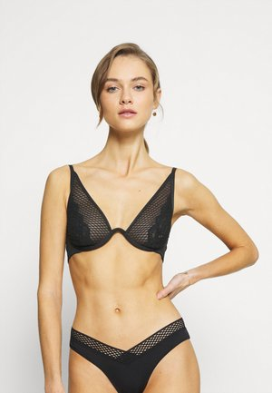 DUCKIE UP - Underwired bra - caviar