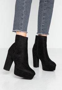 Anna Field - Kotníková obuv na vysokém podpatku - black - 0