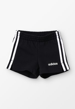 GIRLS ESSENTIALS 3STRIPES SPORT 1/4 SHORTS - Korte sportsbukser - black/white