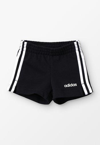 GIRLS ESSENTIALS 3STRIPES SPORT 1/4 SHORTS - Sports shorts - black/white