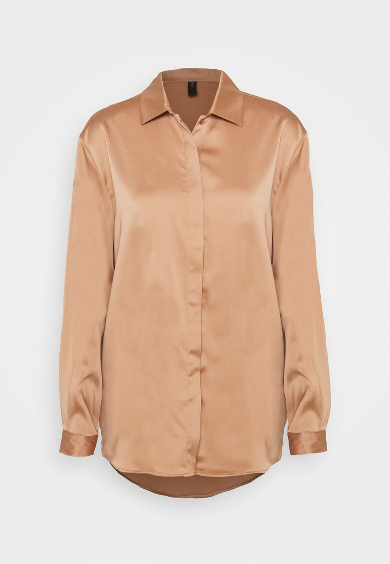 YAS - YASTERESA LONG - Chemisier - tawny brown