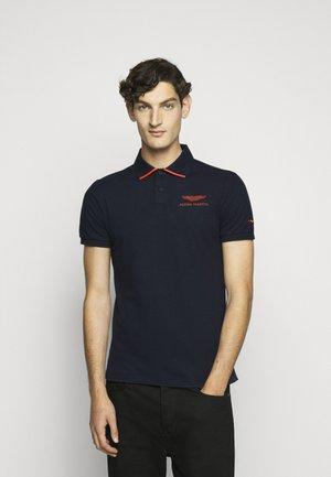 TAPE SHOULDER - Polo shirt - navy