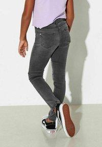 Kids ONLY - Slim fit jeans - dark grey denim - 1