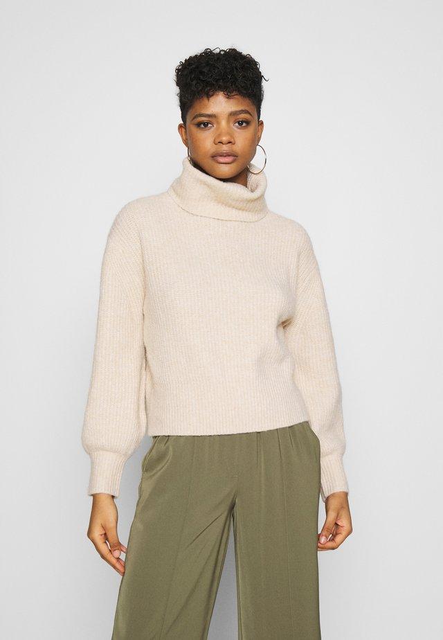 ALEKA JUMPER - Sweter - beige