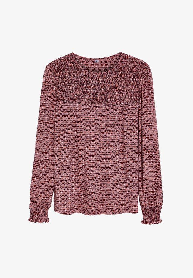 SMOCK  - Long sleeved top - pink