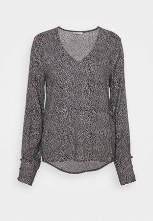 ONLESTER V NECK - T-shirt à manches longues - black