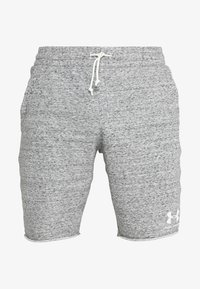 Under Armour - SPORTSTYLE TERRY  - Pantalón corto de deporte - onyx white - 4